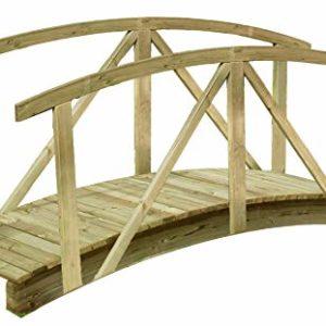 Brücken Und Stege Am Gartenteich