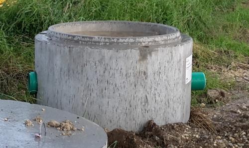 Betonring - Gefäße für den Miniteich