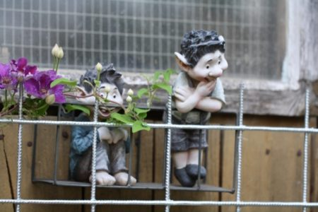 Dekoration im Garten