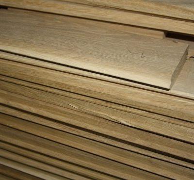 Eichenholz für den Gartenteich