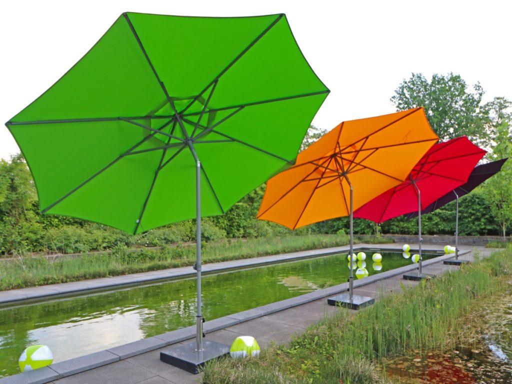 Sonnenschirm zur Abschattung
