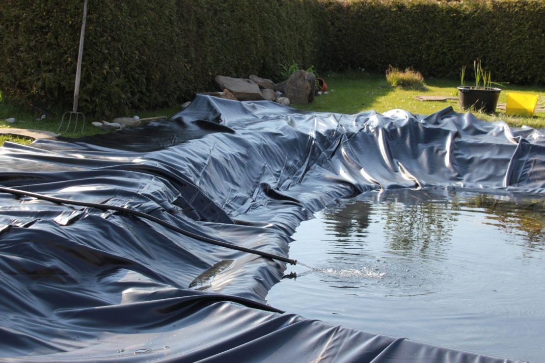PVC Teichfolie Preis //m² Teich Bau Garten Teichfolie 1mm GRÖßE selbst erstellen