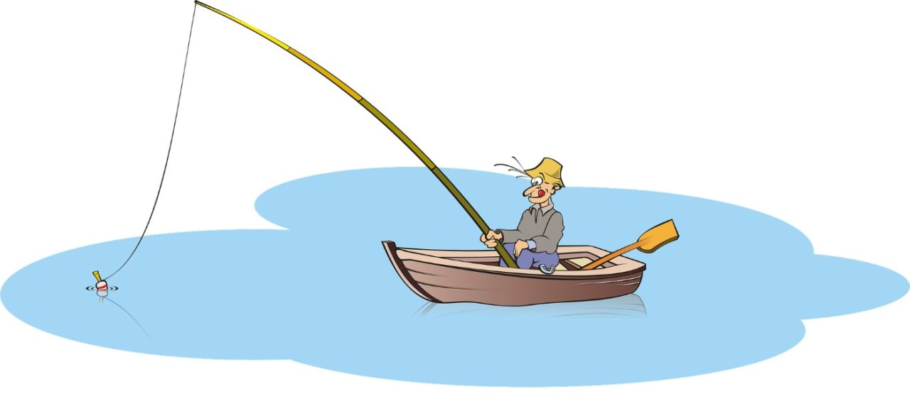 Angeln am Fischteich