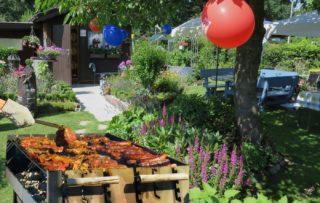 Gartenparty und Planung