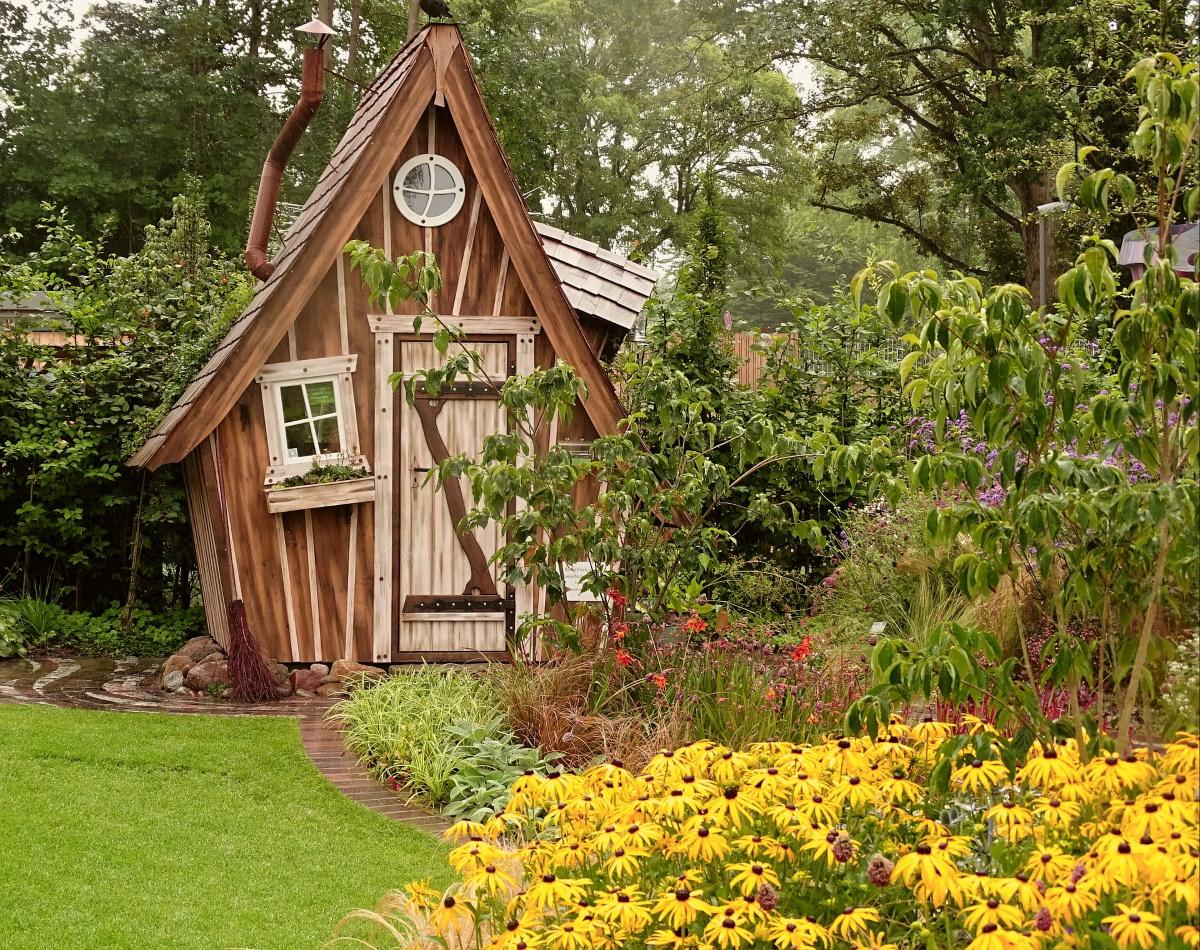 Gartenhaus für Geräte