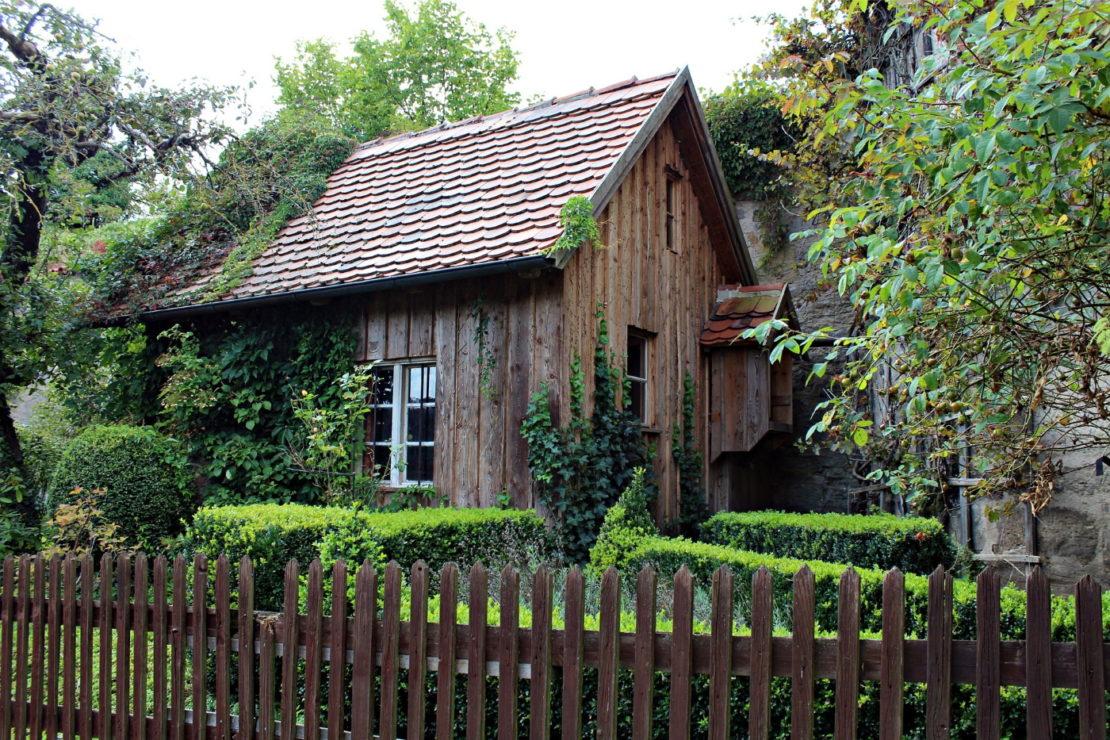 Gartenhaus in Systembauweise