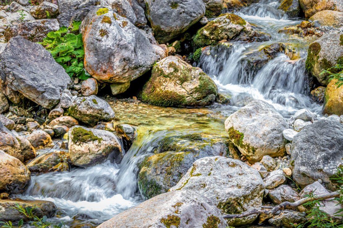 Bachlauf ohne Teich