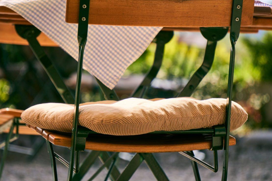 Sitzkissen für den Outdoorbereich
